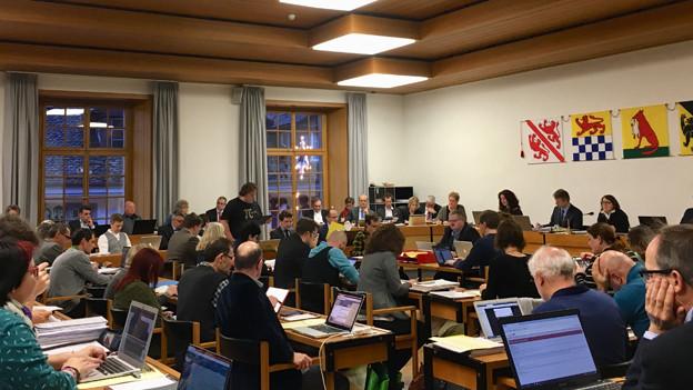 Das Winterthurer Stadtparlament.