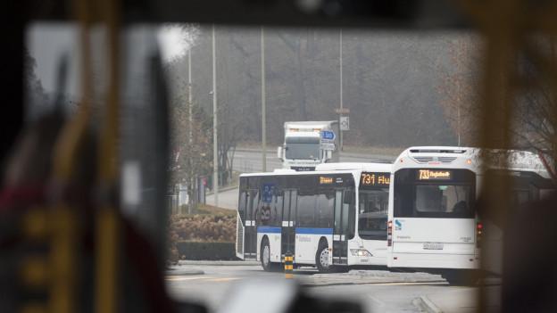 Dieselbus des ZVV