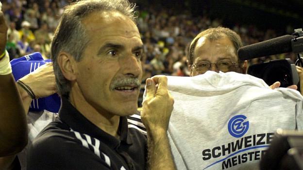 Hans-Peter Zaugg sucht nach Gründen für den Absturz