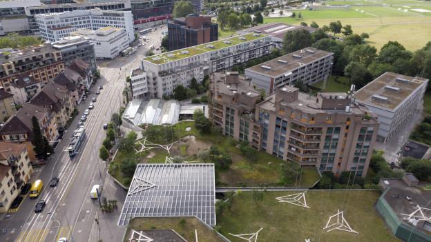 Die Siedlung Brunaupark in Zürich ist gefährdet.