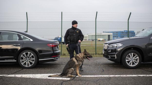 Wie Zürcher Polizisten die Limousinen der Staatshäupter schützen