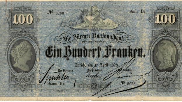 Anfänglich musste jede Banknote von Hand signiert werden