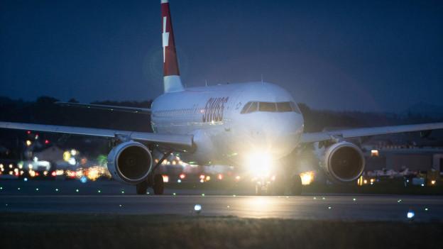Mit höheren Lärmgebühren will der Flughafen den nächtlichen Fluglärm reduzieren.