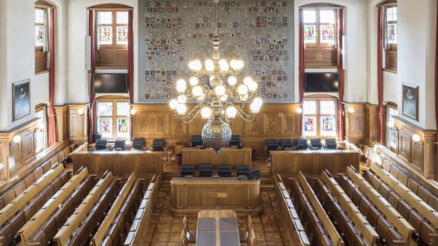 Die Ratsäle in Zürich und Schaffhausen bleiben leer