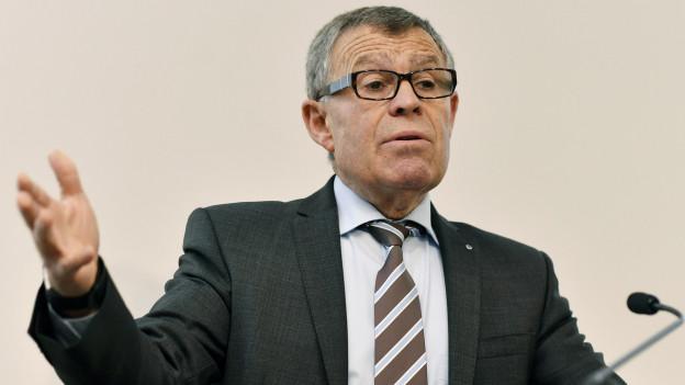 Ernst Stocker einigt sich mit Gemeinden.
