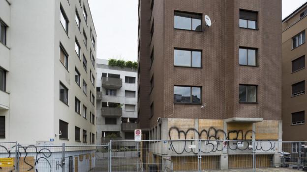Blick auf eines der sogenannten «Gammelhäuser», dessen dringlicher Kauf durch den Stadtrat sogar die Gerichte beschäftigte.
