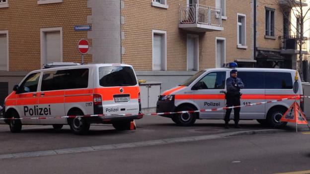 Polizeieinsatz Wiedikon 2015
