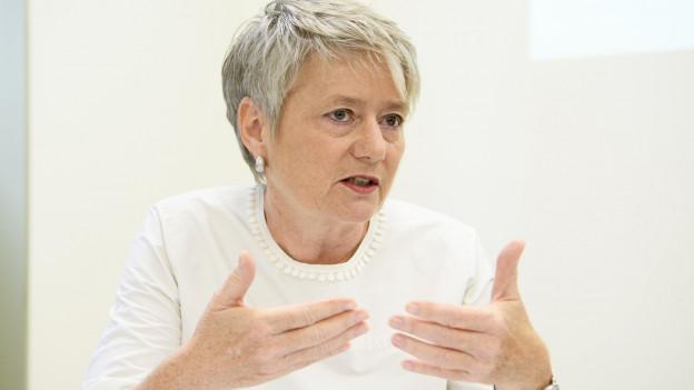 Jacqueline Fehr unterstützt Kulturschaffende.