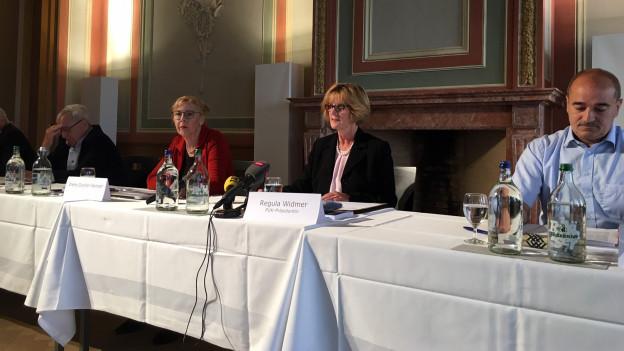 Medienkonferenz zum PUK Bericht