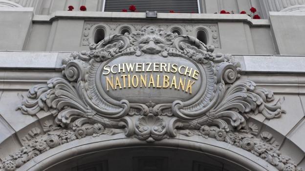 Portal da la Banca naziunala svizra.