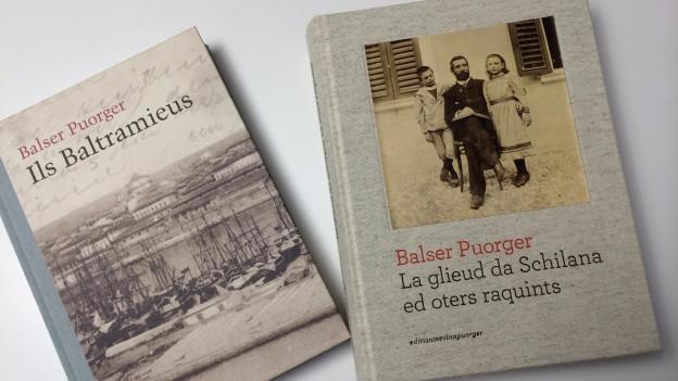 Cuvertas dals cudeschs Ils Baltramieus & La glieud da Schilana ed oters raquints