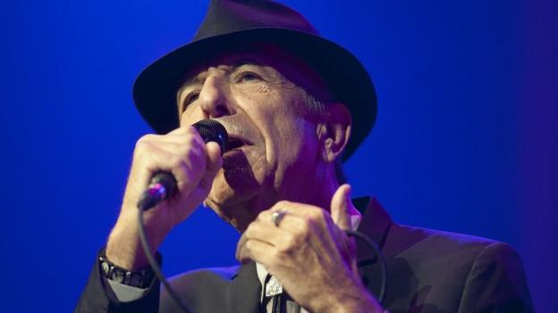 Leonard Cohen vi da chantar.
