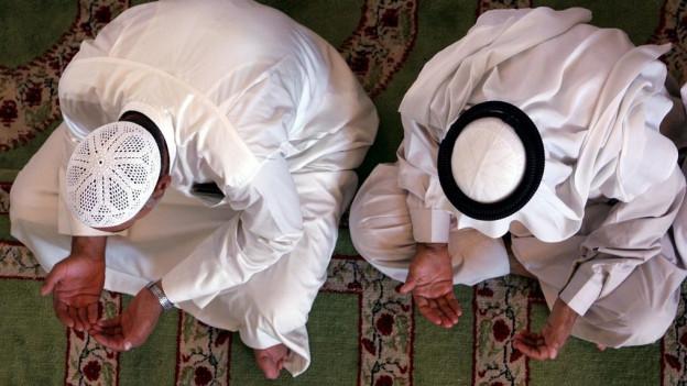 Sunnits, cartents dad ina cuminanza en il Islam, vid far uraziun.