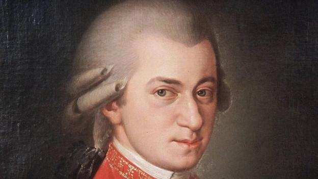 Purtret da Wolfgang Amadeus Mozart.