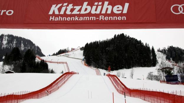 La Streif, la pli privulisa pista da cursa da skis dal mund.