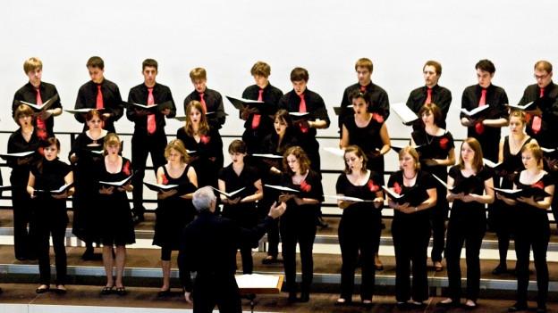 Giuvenils dal Chor da giuvenils grischun vi da chantar.