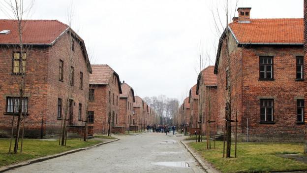 Retscha da chasas dal champ da concentraziun dad Auschwitz.