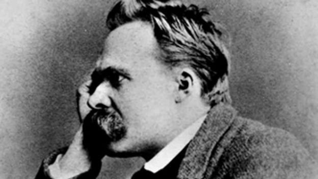 Fotografia vegliandra dal filosof tudestg, Friedrich Nietzsche.