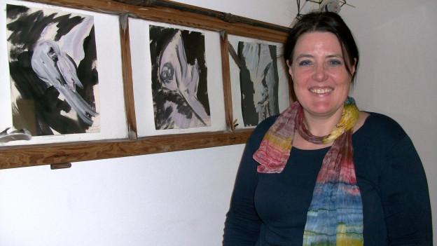 Clea Filli-Baumberger avant in'ovra d'art da ses bab.