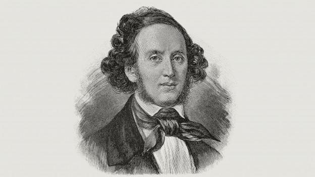 Purtret da Jakob Ludwig Felix Mendelssohn Bartholdy.