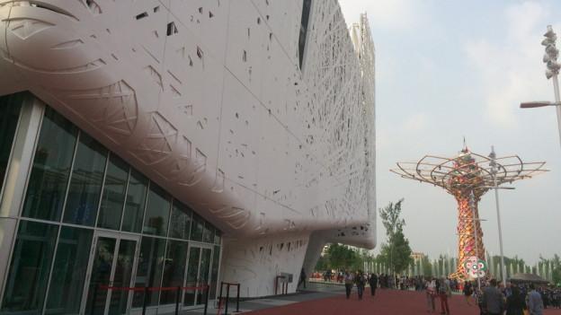 L'expo 2015 a Milano.