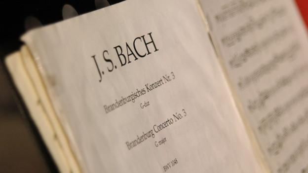 L'ovra «Brandenburgische Konzerte» da Johann Sebastian Bach.