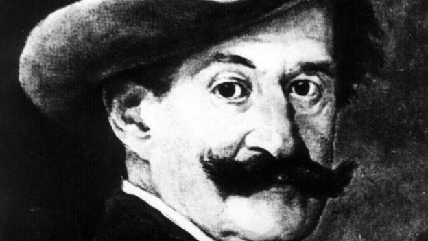 Purtret da Johann Strauss junior.