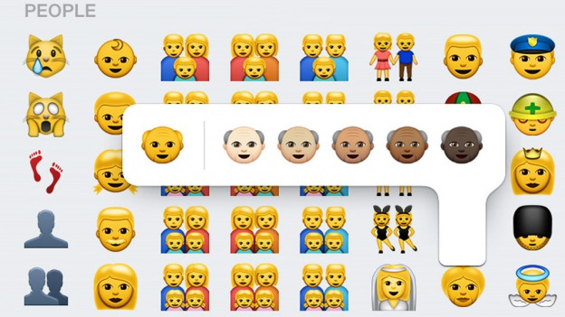 Differents emojis.