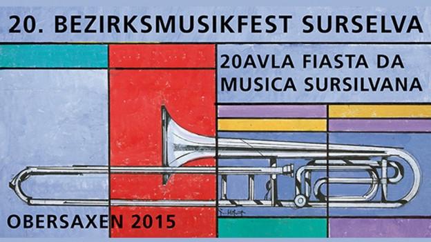Logo da la Festa a musica districtuala Sursaissa.