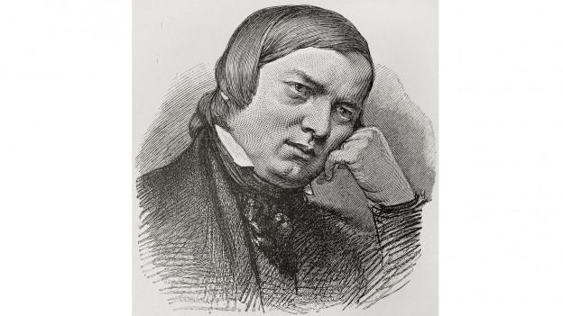 Purtret da Robert Schumann.