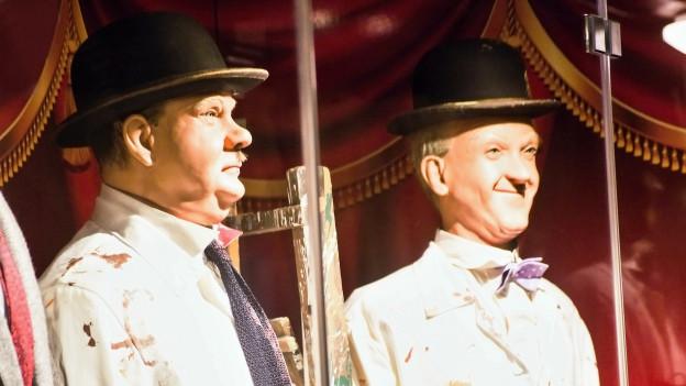 Stan Laurel ed Oliver Hardy dal duo Dick e Doof.