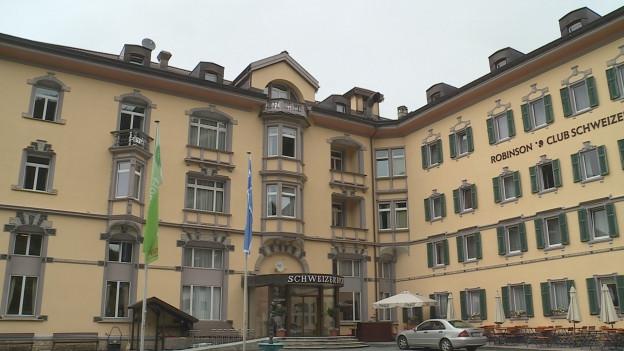L'hotel Robinson Club Schweizerhof a Vulpera.