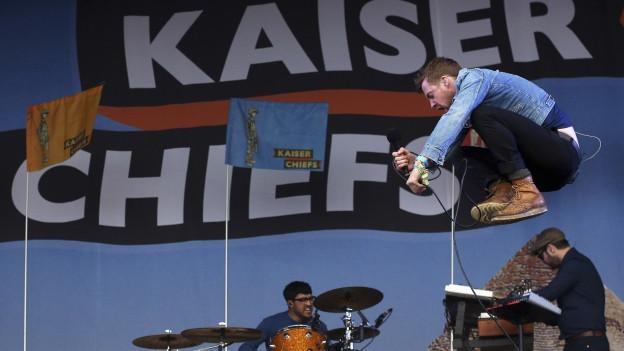 Gruppa da musica Kaiser Chiefs.