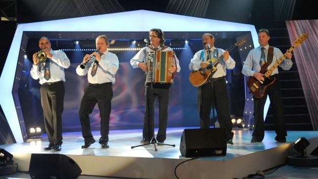 Alpina Quintett sin tribuna