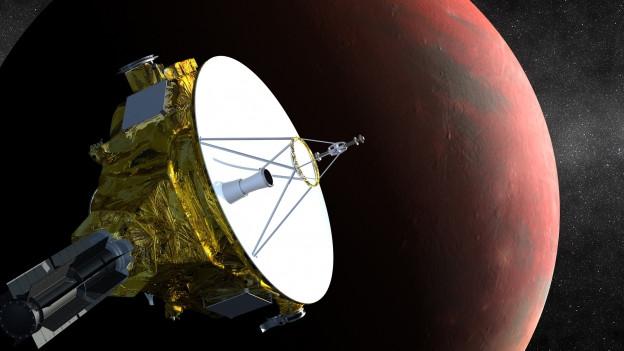Sonda New Horizons che sgola vers il Pluto.