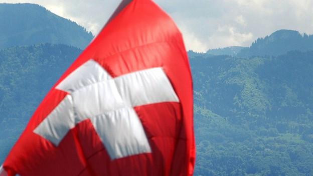 La bandiera svizra
