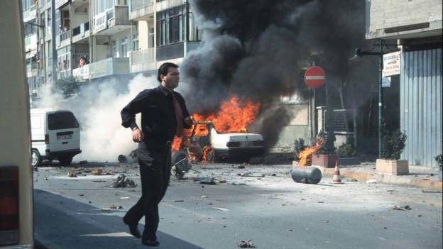 Taxi attatgà da la PKK.