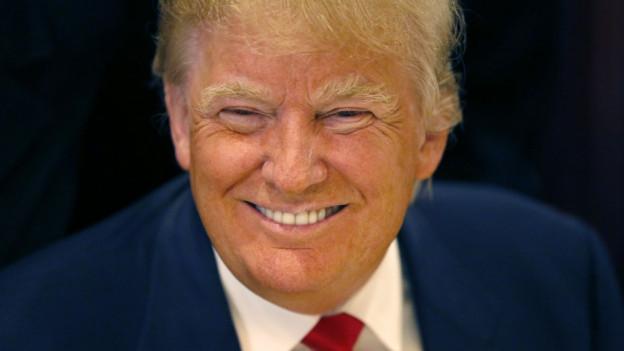 Purtret da Donald Trump.