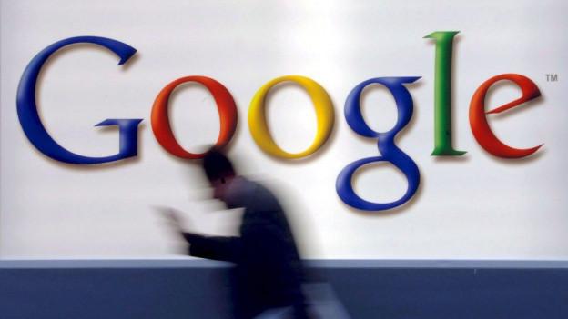 Letras «Google».