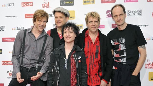 Purtret da la band «Die Toten Hosen».