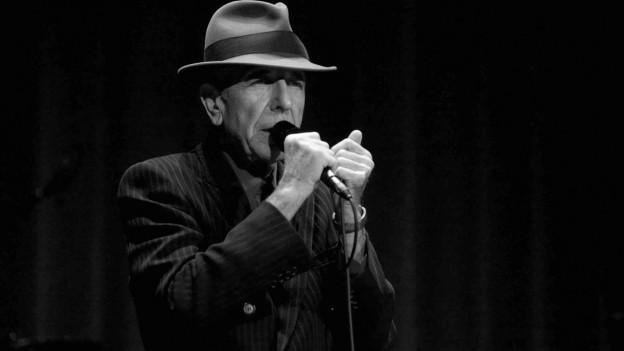 Purtret da Leonard Cohen.