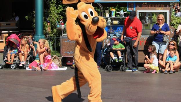 Pluto, il chaun da Mickey Mouse.
