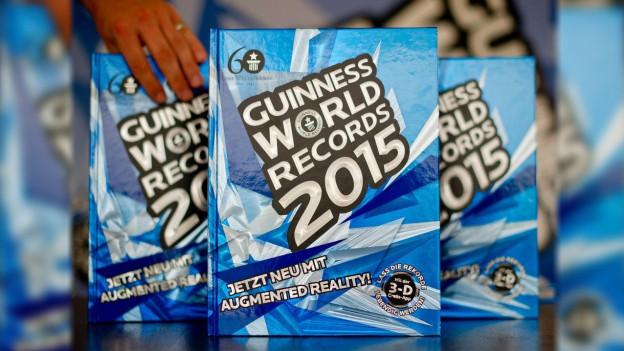 Trais cudeschs da records da Guinness