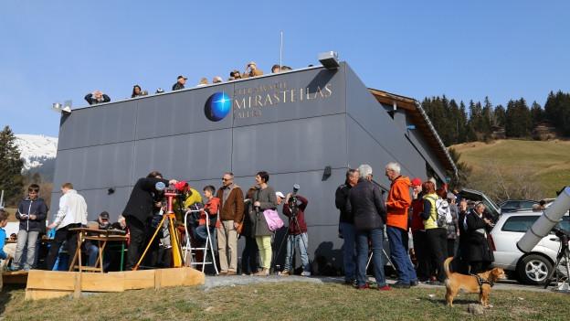 L'observatori Mirasteilas a Falera.
