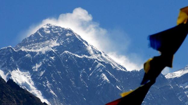 Il Mount Everest.