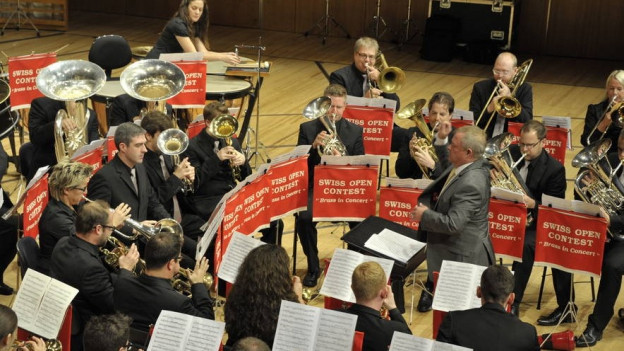 Gruppa da musica «Wallberg Band».
