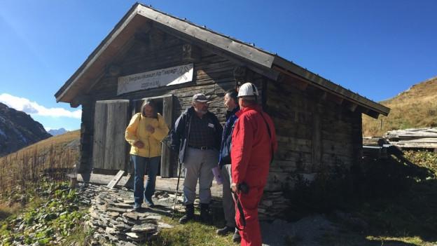 Museum da minieras sin l'Alp Taspegn.