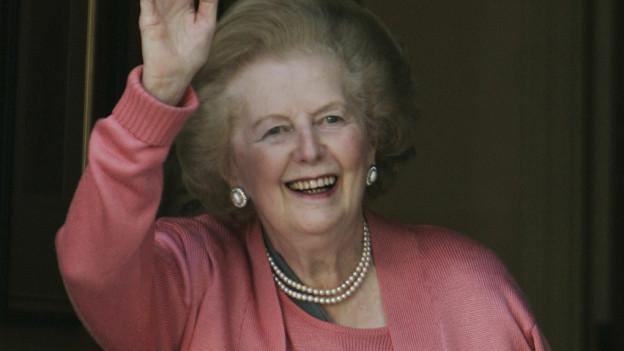 Purtret da Margaret Thatcher.