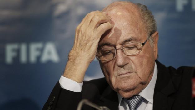 Il president da la FIFA Sepp Blatter na vegn betg a ruaus.