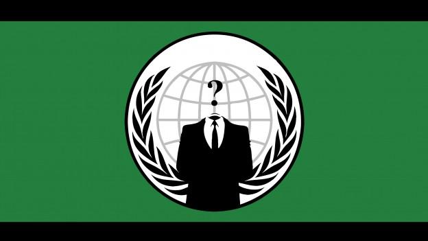 Logo da la gruppa Anonymous.